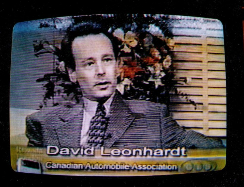 David Leonhardt on TV