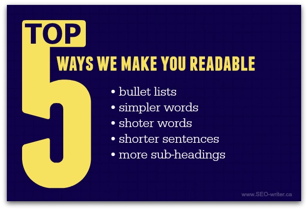 How to increase readability