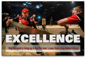 Excellence attracts customers